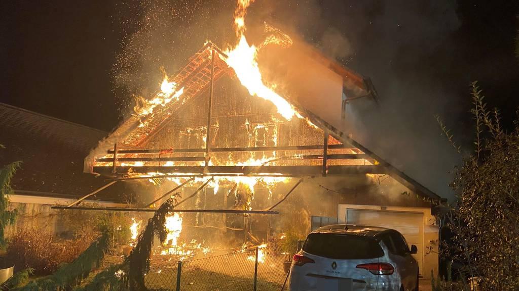 Familie verliert bei Brand ihr ganzes Hab und Gut