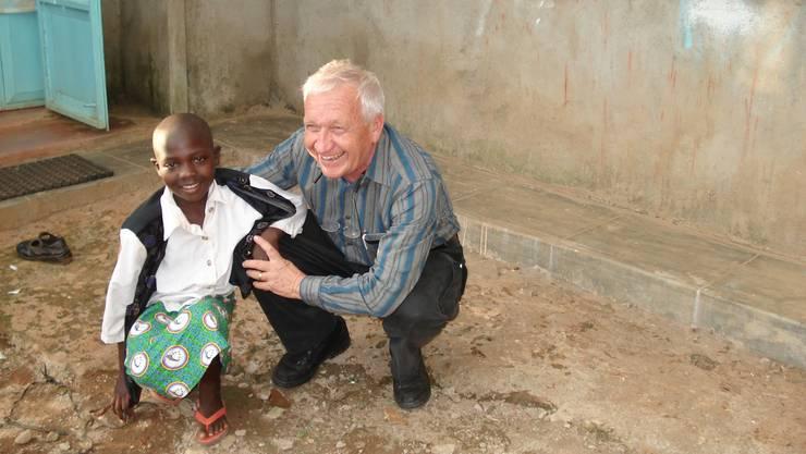 Eine Institution, an welche die Spenden gehen sollen: Der «Siaya Kenia Kinder Verein» von Rolf Hotz.