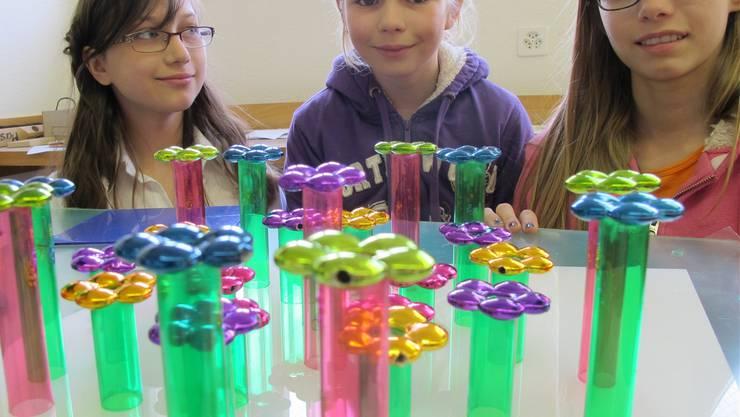 Eine Woche lang waren die Kinder im kreativen Einsatz für ihre Schule.