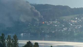 Brand in Beinwil am See