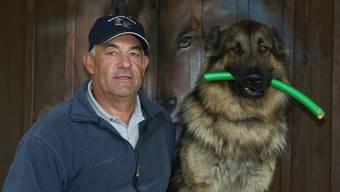 In Gansingen ist der Hundetrainer Hans Schlegel nach wie vor tätig.