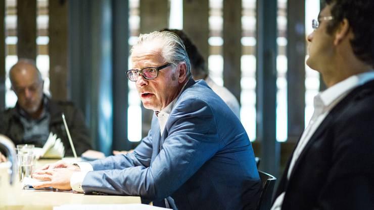 Christoph Risi, Produktionsleiter Oper Schloss Hallwyl. Aufgenommen am 9. August 2016.