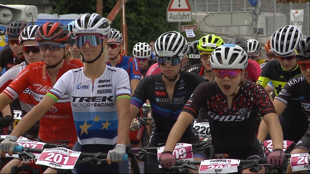 Schweizer Mountainbike-Meisterschaft in Gränichen fehlt es an Emotionen