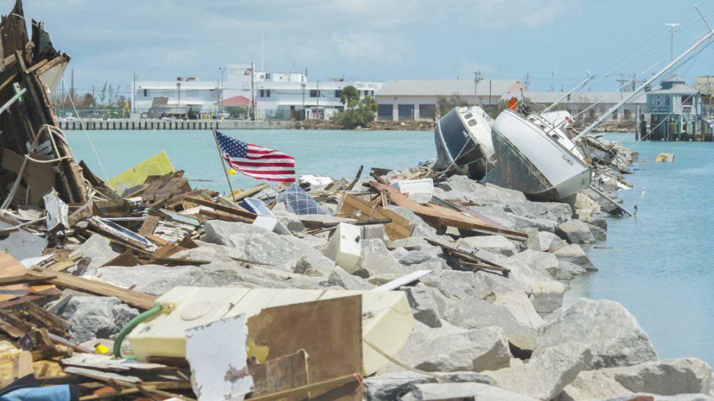 50 Milliarden Dollar: Der Hurrikan «Irma» dürfte Experten zufolge der Versicherungsbranche teuer zu stehen kommen.