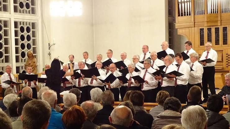 Männerchor mit SöMM. Schwyzerörgeli-Musik Mutschellen