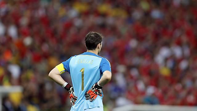 Der einsamste Mann auf dem Platz: Iker Casillas