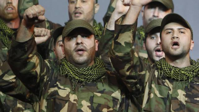 Mitglieder der Hisbollah-Miliz (Archiv)