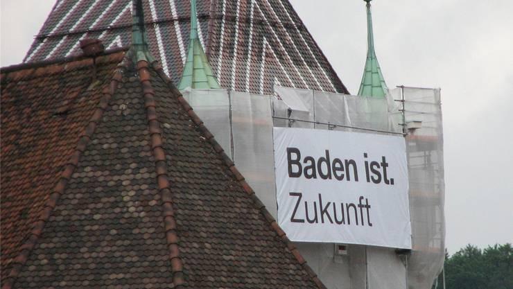 «Baden ist.» Mit diesem Slogan wirbt die Bäderstadt für sich.az archiv
