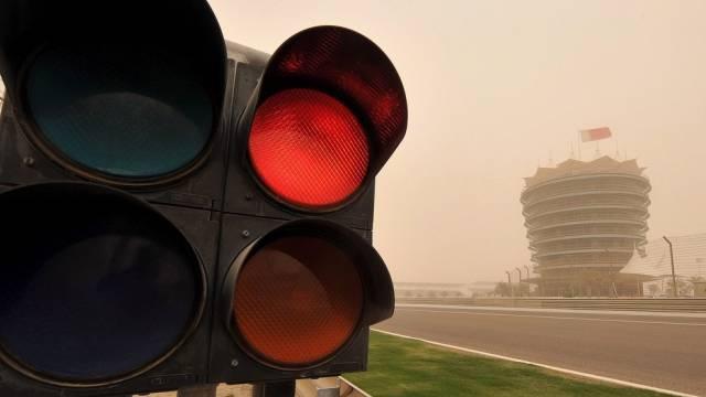 Im Februar wurde der GP Bahrain wegen politischer Unruhen abgesagt
