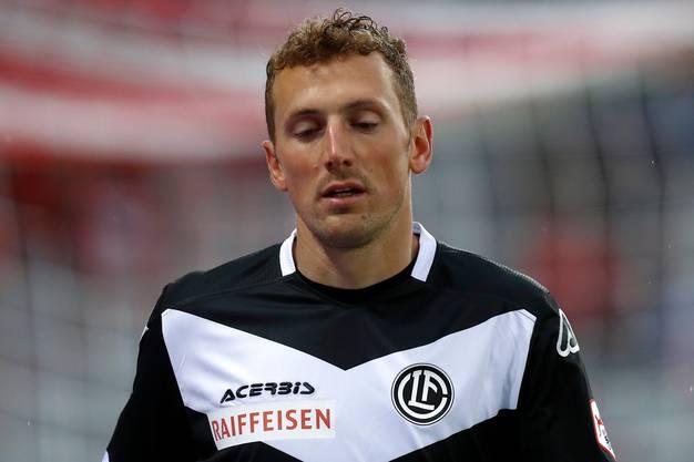 Ist derzeit weit hinter den Erwartungen: Lugano-Stürmer Alexander Gerndt.