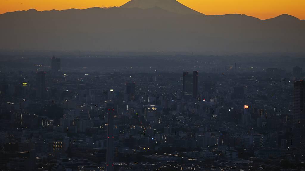 In Tokio bewegen sich die Corona-Zahlen wieder in den kritischen Bereich