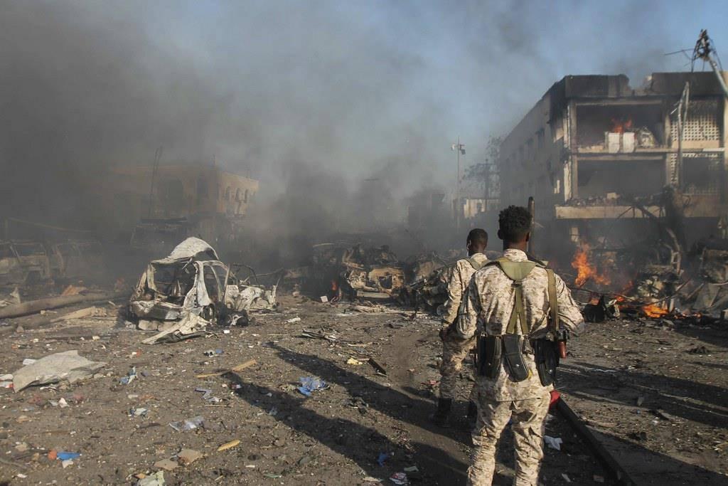 Anschlag auf Mogadischu (© Keystone)