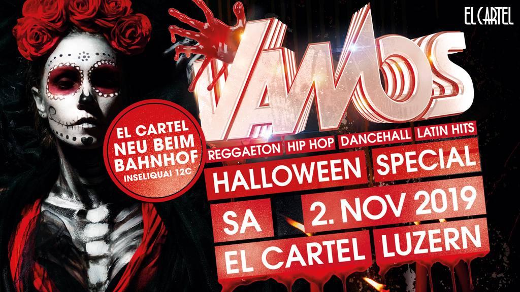 Vamos Halloween Special im El Cartel in Luzern.