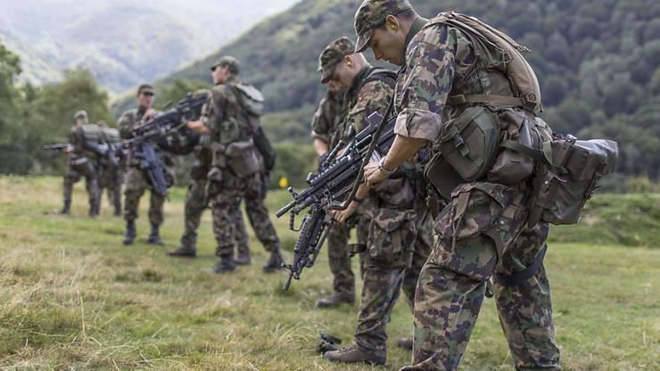 Schweizer Soldaten. (Symbolbild)