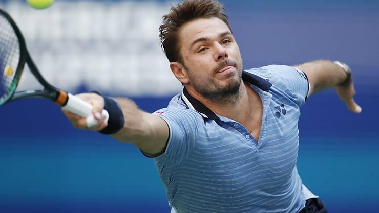 Vergeblich gestreckt: Für Stan Wawrinka ist das US Open im Viertelfinal zu Ende gegangen