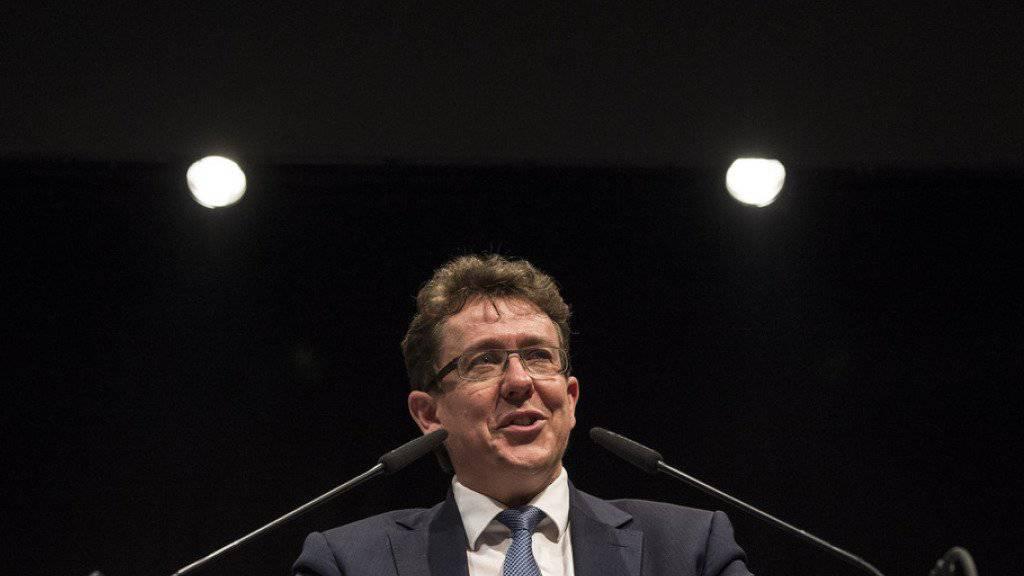 Steht nicht mehr als Bundesratskandidat zur Verfügung: Der Berner SVP-Nationalrat Albert Rösti.