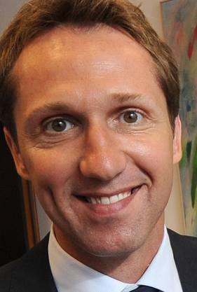 Adrian Knup und René Kamm, CEO der Messe Schweiz.