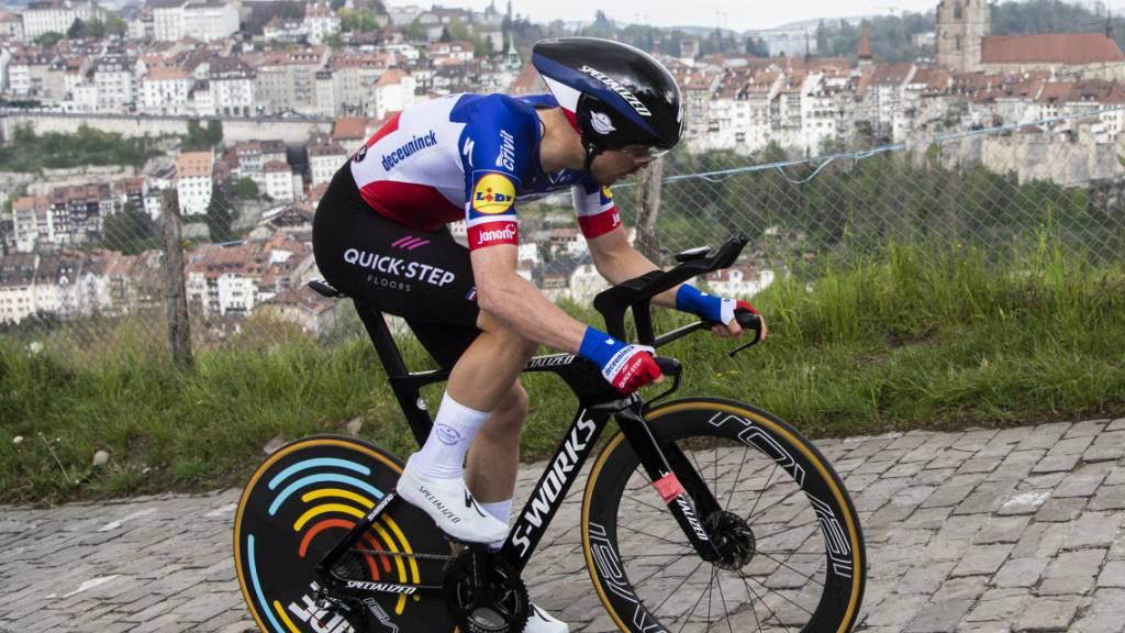Den Tagessieg zum Abschluss der Tour de Romandie sicherte sich der Franzose Rémi Cavagna