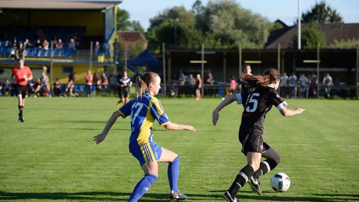 Die Derendinger Spielerinnen hatten gegen die Frauen von Lugano das Nachsehen.