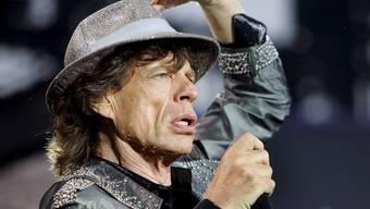 Mick Jagger bei einem Konzert in den Niederlanden (Archiv)