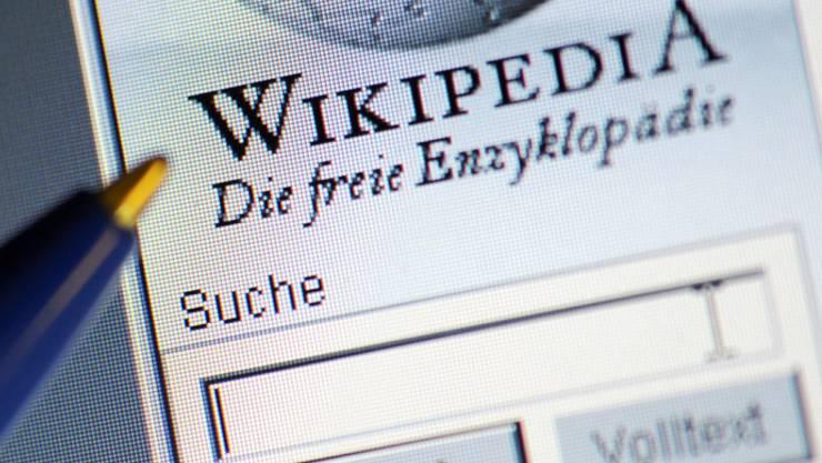 Das Web-Lexikon Wikipedia war am letzten Freitag Opfer einer Cyber-Attacke. (Symbolbild)