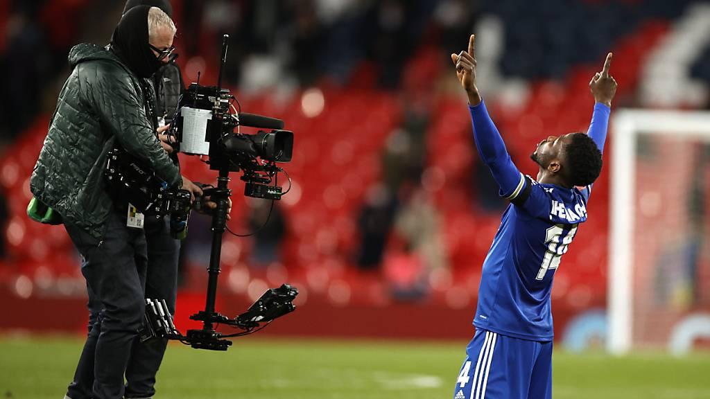 Fokus auf Kelechi Iheanacho: Der 24-jährige Stürmer avanciert für Leicester City zum «Mr. Cup»