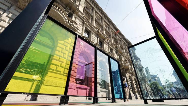 Öffentliche Kunst in Zürich