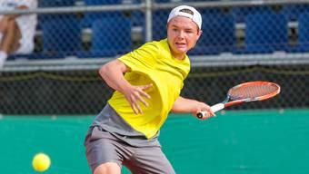 Der Schweizer Dominic Stricker wird an der FROMM Swiss Junior Trophy (U18) zu den Favoriten zählen.
