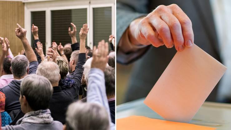 Wo Gemeindeversammlungen stattfinden, wo Entscheide an der Urne fallen.