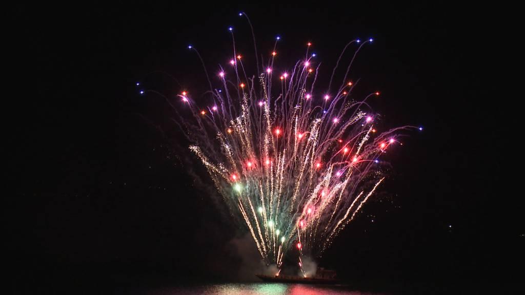 Feuerwerk zum Geburtstag: Alles Gute, liebe Schweiz!