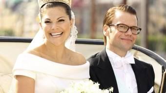 Victoria und Daniel wurden reich beschenkt (Archiv)