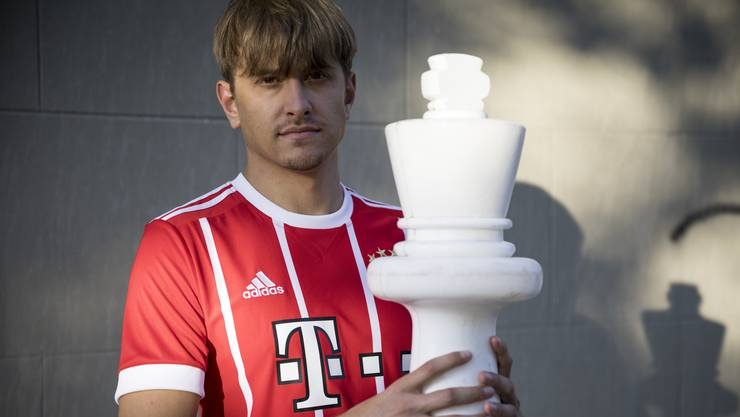 Sportler bei Bayern München: Aber Noël Studer startet mit 16 statt 11 «Spielern».