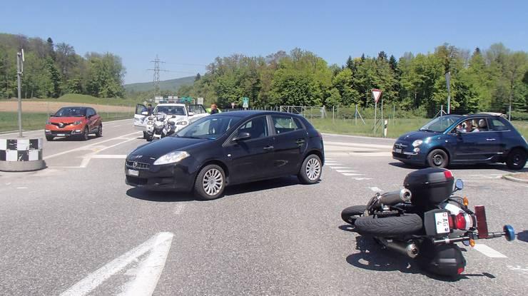 Der Unfall passierte auf dem A1-Zubringer.