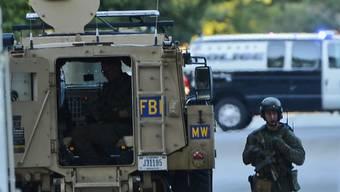 Das FBI schlug nahe des Militärcamps zu (Symbolbild)