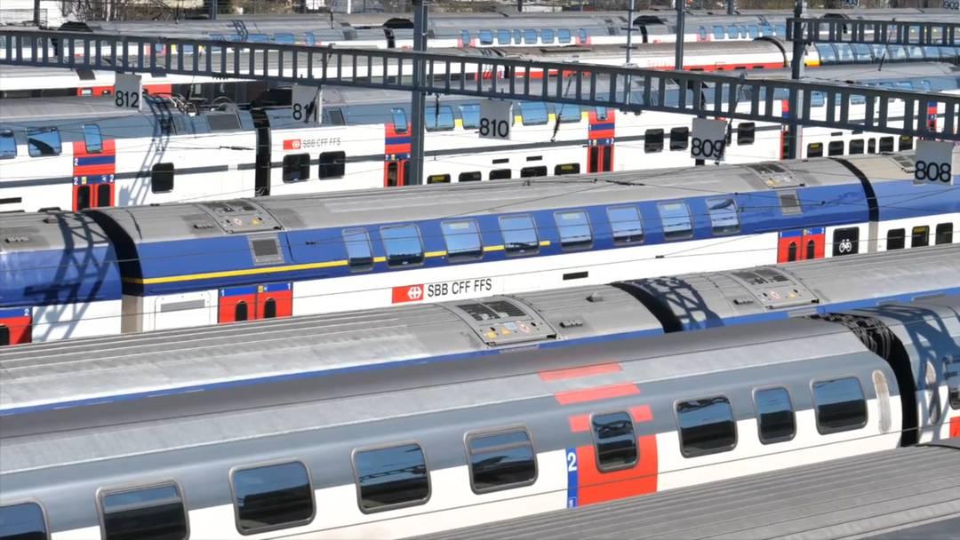 VIDEO - In Altstetten ZH haben die Züge Corona-Pause
