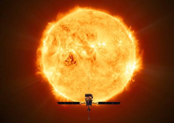 Die Solar Orbiter startete am Montag ihre Sonnenmission.