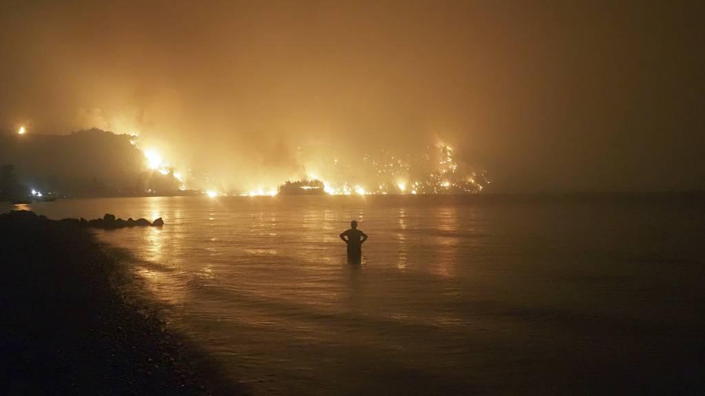 Griechenland brennt weiter