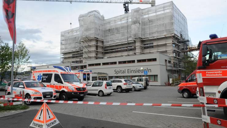 Zur Sicherheit wurde ein Grossaufgebot an Rettungskräften aufgeboten.