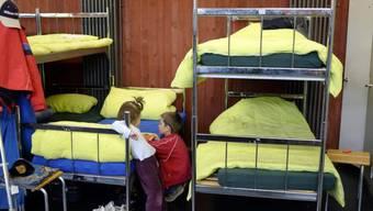 Kinder im Asylzentrum in Bremgarten (Archiv)