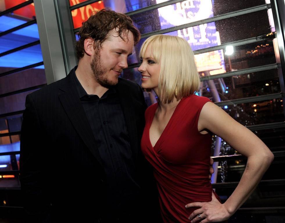 Anna Faris und Chris Pratt (© Getty Images)