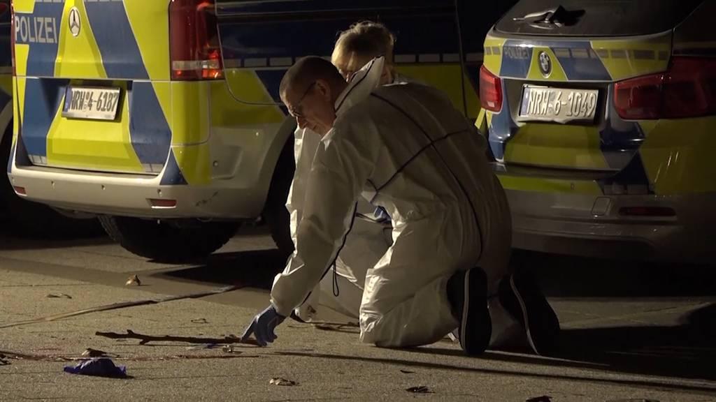 Polizist erschiesst Mann wegen Messer