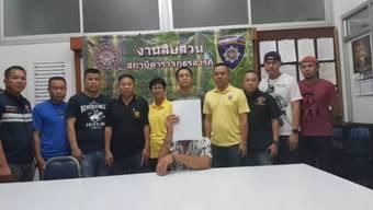 Der Zofinger R.U. wurde am 21. Juli in Saraphi (Thailand) verhaftet.