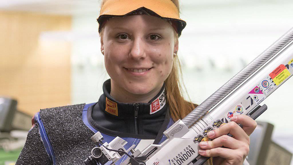 Nina Christen wird WM-Fünfte im Dreistellungsmatch Gewehr 50 m