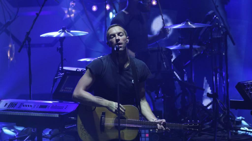 Coldplay spielt auf indischem Polteri