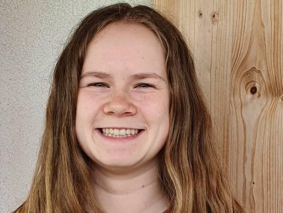 Nina Erni, bald in der 6. Klasse, Kantonsschule Beromünster.