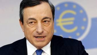EZB-Präsident Mario Draghi ist zuversichtlich (Archiv)