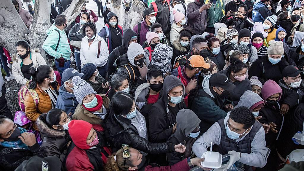 US-Regierung rechnet mit Verschärfung der Lage an der Südgrenze