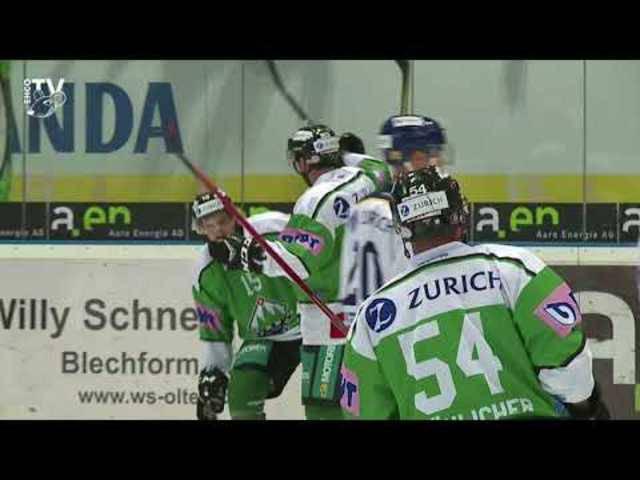 Cup: EHC Olten - SC Langenthal 3:2 n.V., 19.09.2017