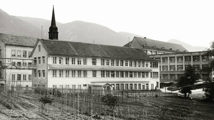Fabrik Gebr. Schild um 1900.