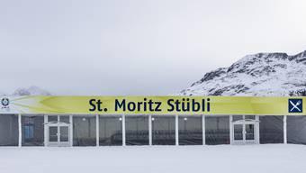 Das Restaurant «St. Moritz Stübli» noch vor seiner Eröffnung.